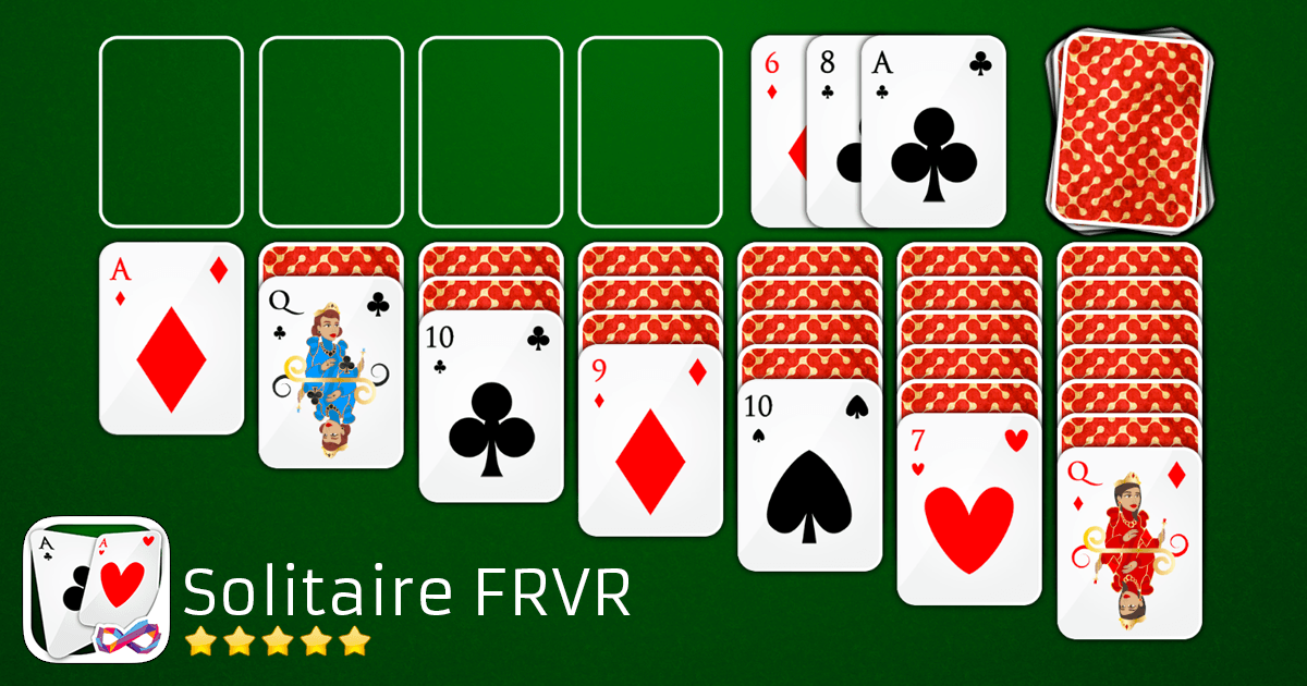 play solitaire frvr klondike solitaire